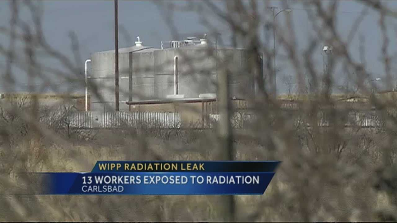 WIPP employees test positive for radiation contamination
