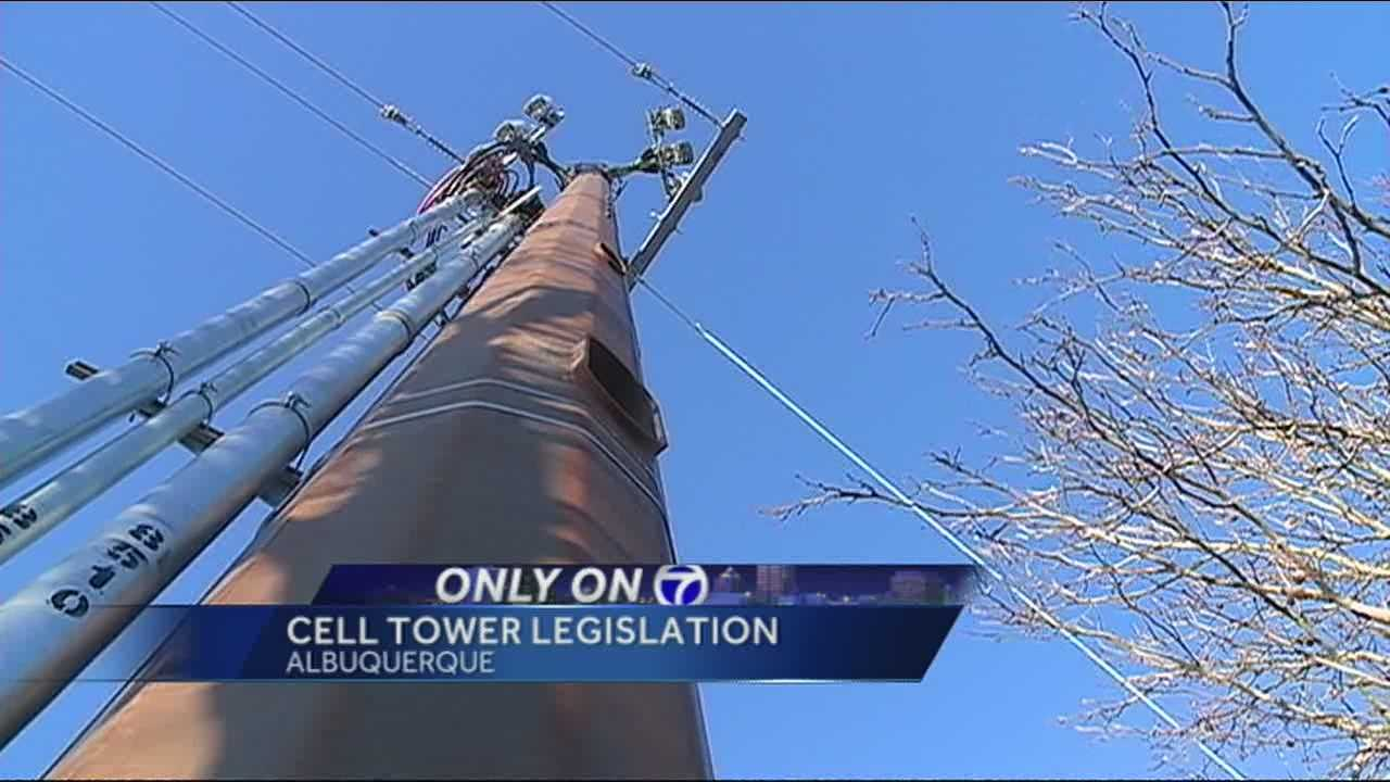 A cell phone tower suddenly appeared in Northeast Albuquerque and residents say the company didn't follow the rules.