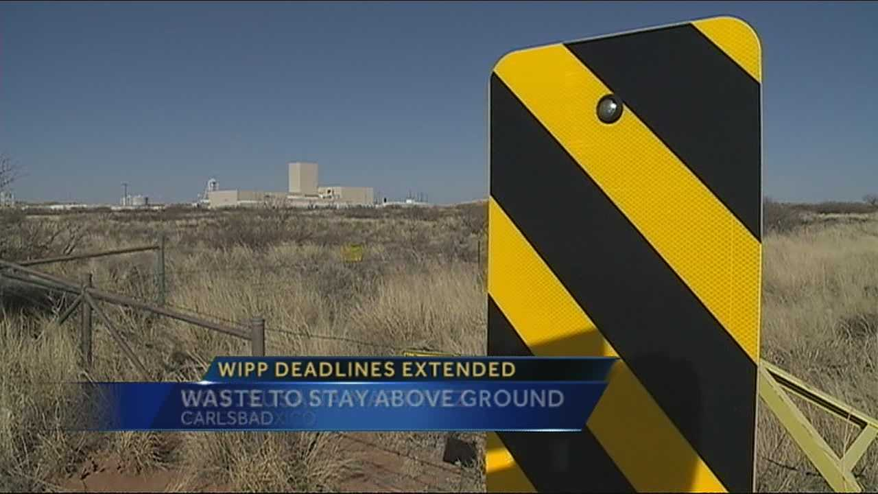 Nuclear waste will be kept above ground at the Waste Isolation Plant.