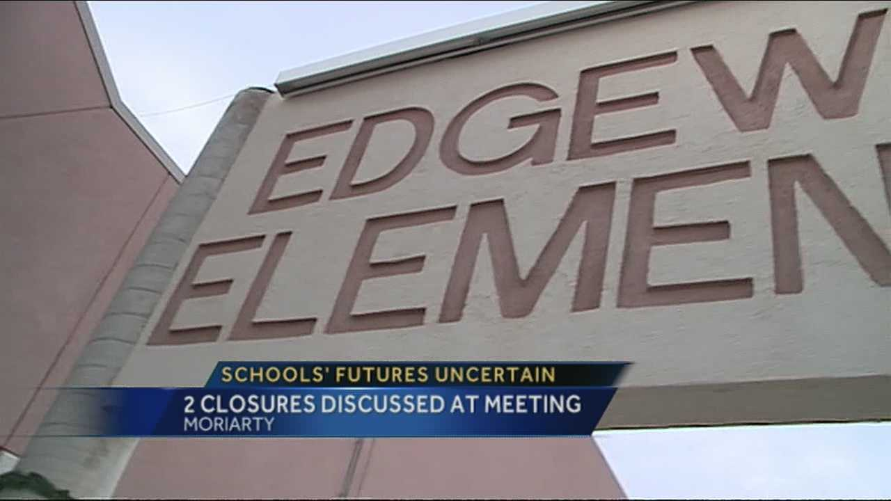 It's back to the drawing board as the towns of Moriarty and Edgewood debate closing a school.