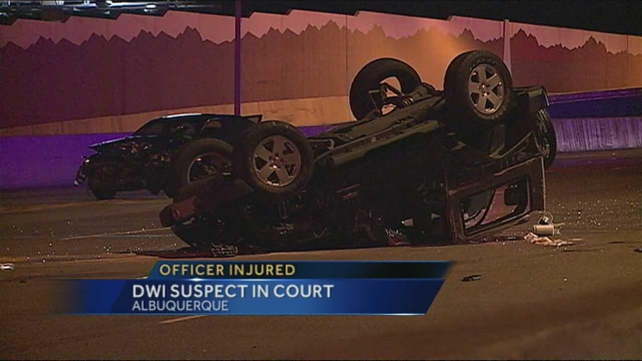DWI Crash Suspect In Court