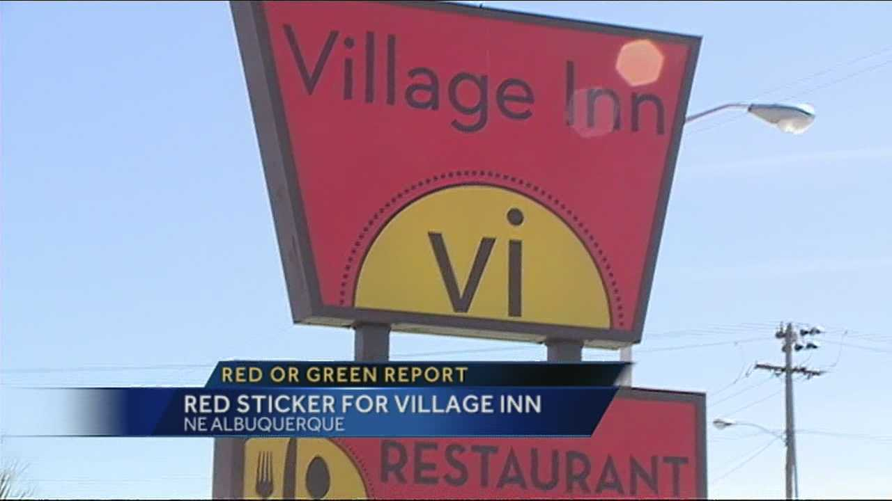 An Albuquerque restaurant, known for its breakfast menu, was hit with a red sticker after a recent health inspection.