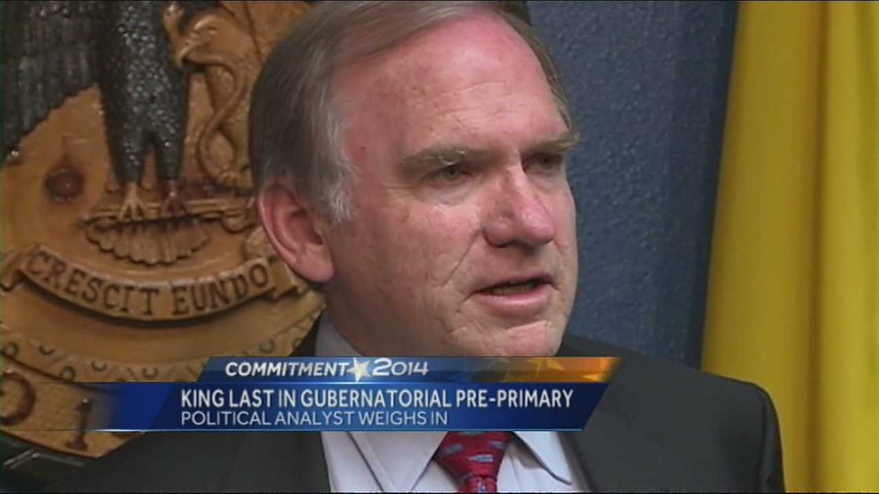 Attorney general Gary Kind came in last, during the democratic pre-primary convention