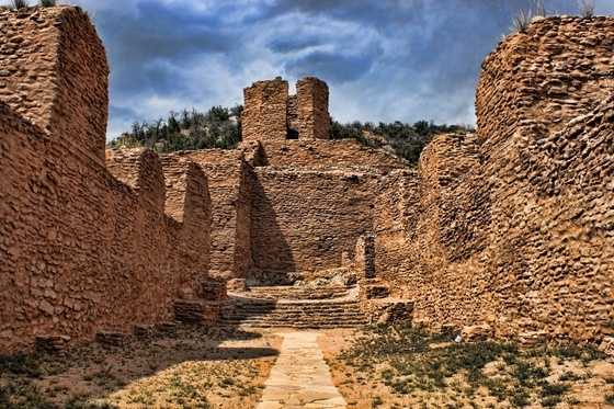 Jemez Historic SiteJemez National Historic Landmark ruin.