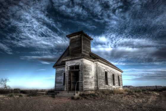 Old ChurchOld church on the plains.