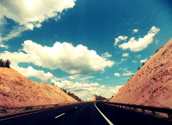 Clouds in PerspectiveLovely New Mexico.