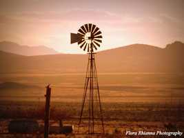WindmillThis picture was taken east of Lordsburg NM towards Deming NM.