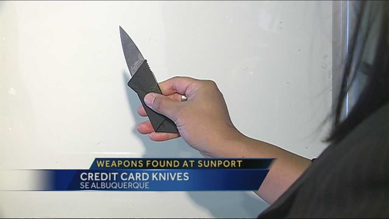 Credit Card Knives