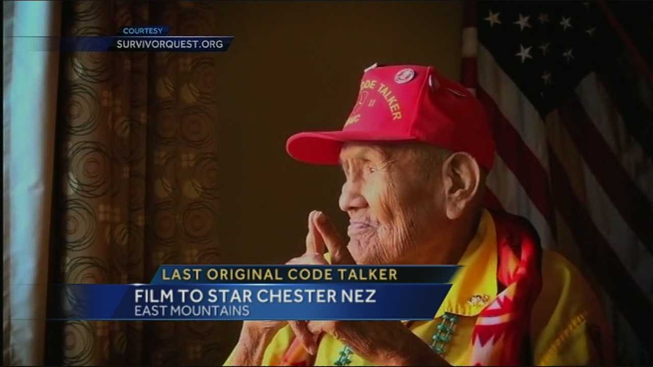 The last of the original Code Talkers spoke to KOAT Action 7 News about a documentary that will chronicle his life.