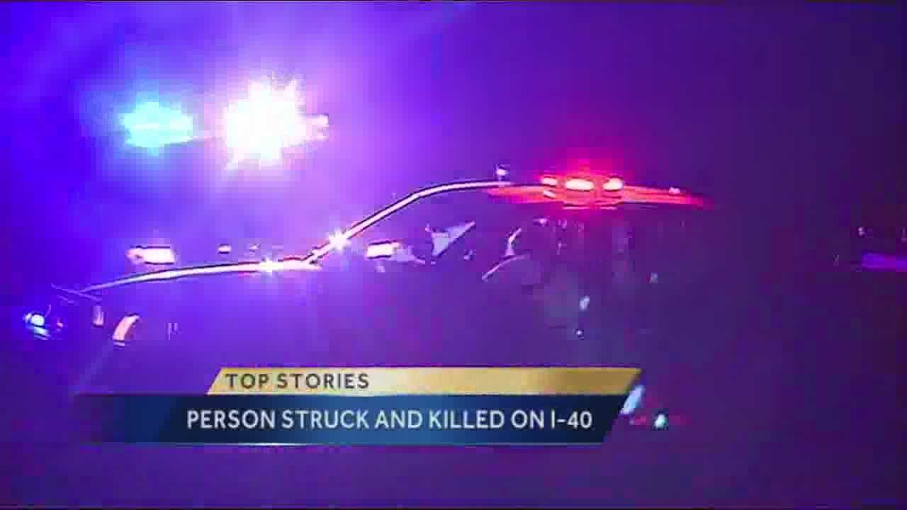 Pedestrian Hit on I-40