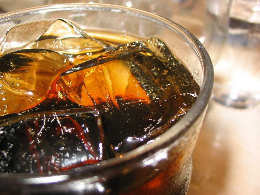 The top of the list are sodas. A recent study of nearly 43,000 men found that those who drank on 12 ounce sweetened beverage a day will have a 20 percent great risk of a heart attack than men who did not drink any.