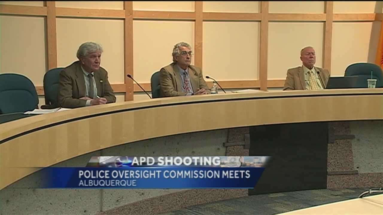 A 9-member commission met Thursday where officer-involved shootings were a hot topic.
