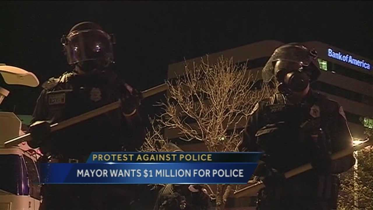 Mayor Wants 1 Million For Police Training