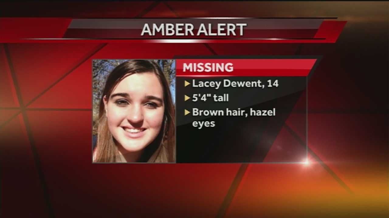 Police have issued an Amber Alert for 14-year-old Albuquerque girl Lacey Dewent