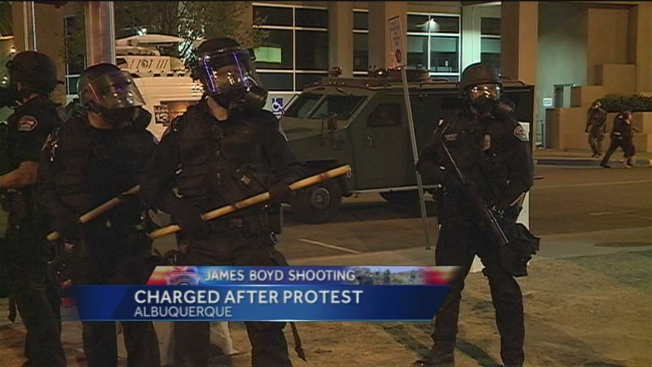 Update on APD officer hit in head with rock during protest