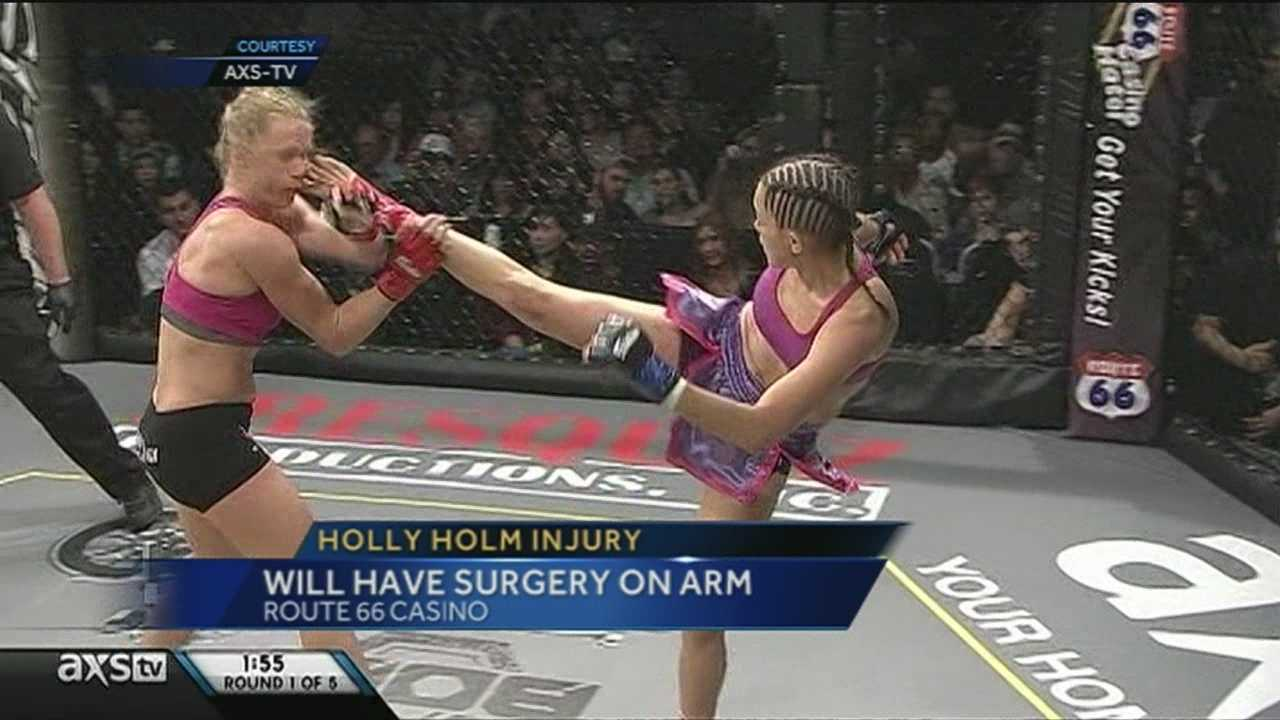 3 months of no contact for Holly Holm, promoter says