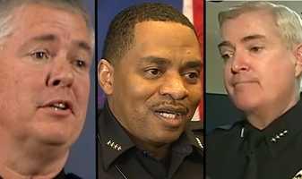 4. Since the DOJ started its probe in November 2012, the Albuquerque Police Department has had 3 men serve a top cop -- Ray Schultz, Allen Banks and Gorden Eden.