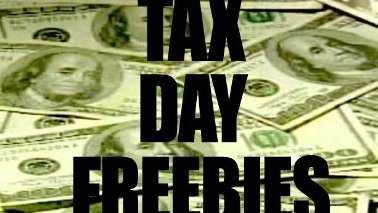 freebie tax day teaser