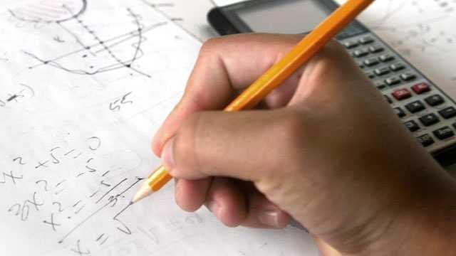 Math, homework, school, teacher