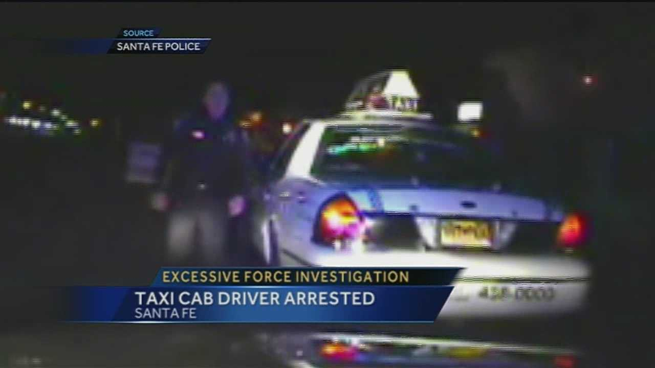 A case of alleged excessive force against Santa Fe Police tonight.
