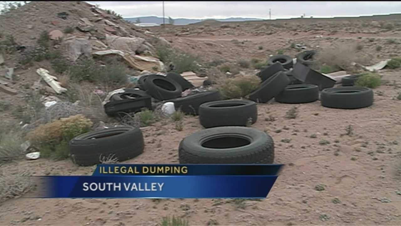 SOME IN THE SOUTH VALLEY SAY THE LAND IS BEING TRASHED.