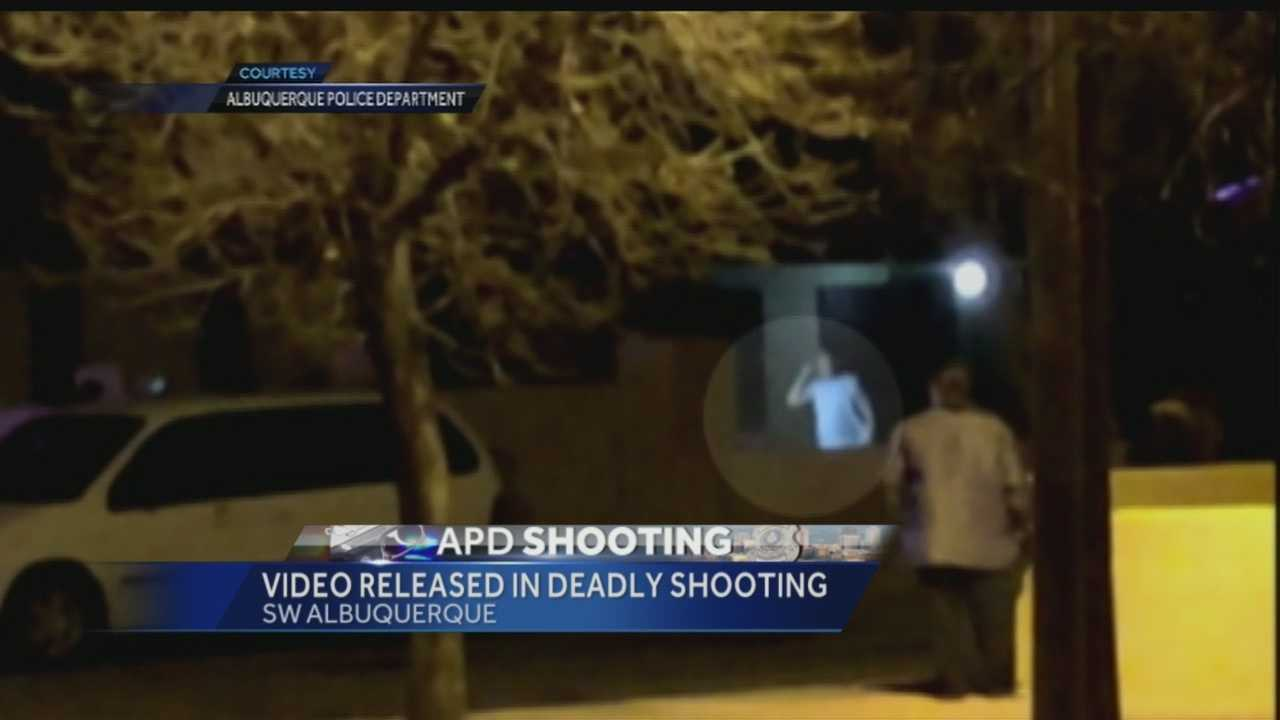 One month after the shooting we are getting a look at the lapel video from that incident.
