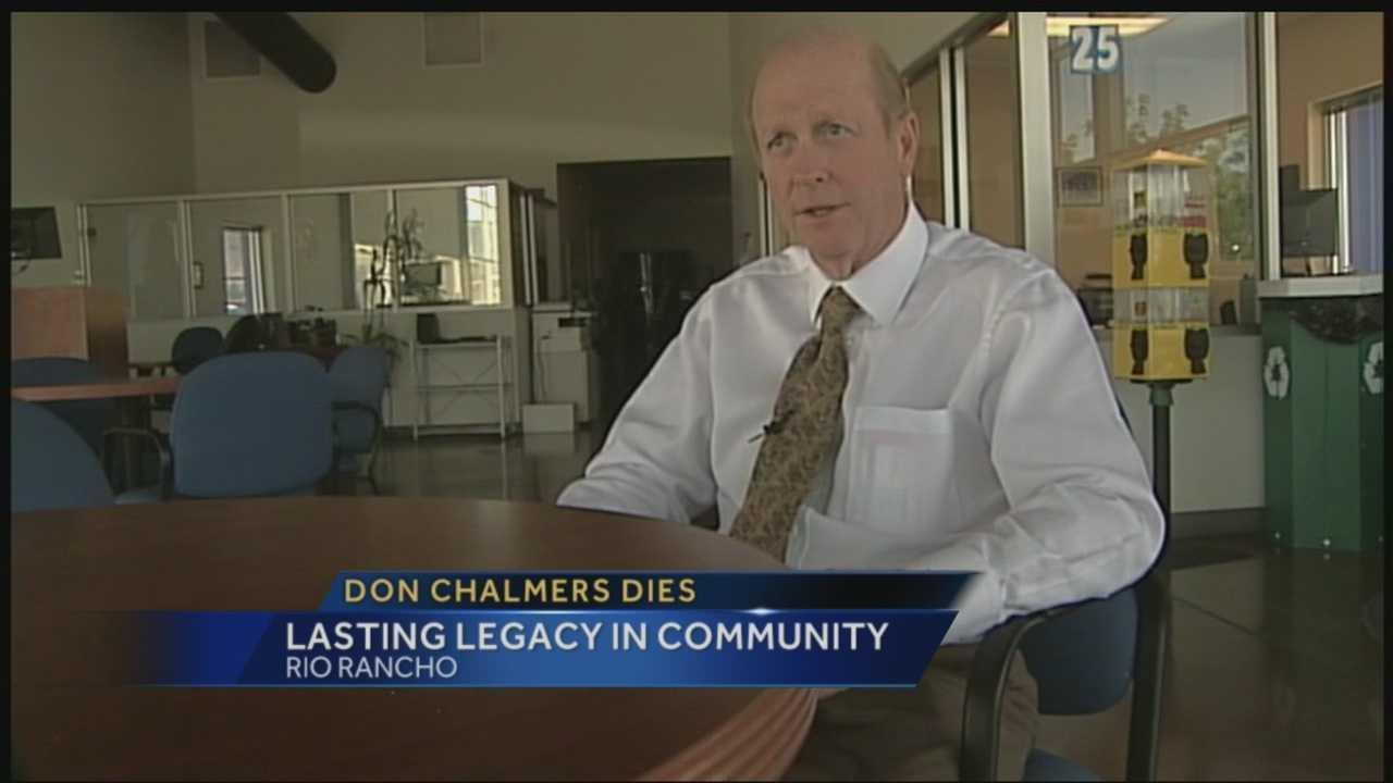 Don Chalmers dies