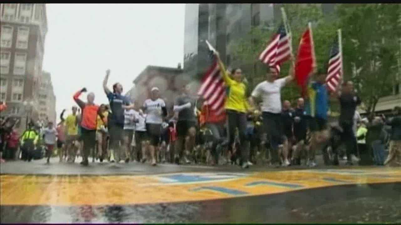 New Mexico Runners at Boston Marathon