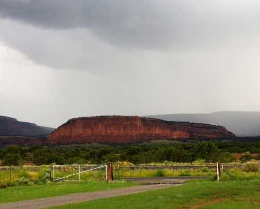 Continental Divide: Continental Divide National Scenic Trail, Fort Wingate (State Highway 400), Kit Carson Cave