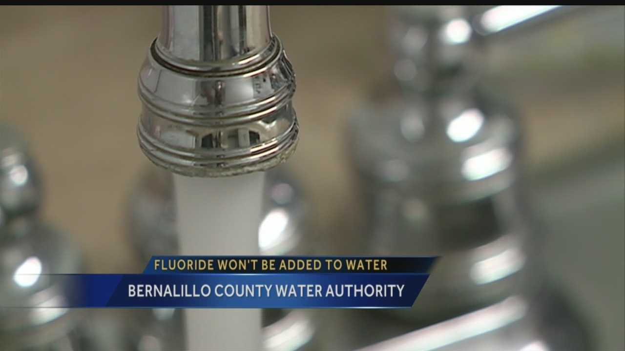 The debate over fluoride in your drinking water came to a sudden stop Wednesday night.