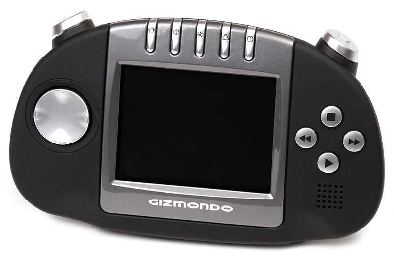 7. Gizmondo! The worst selling handheld console in history, says GamePro.