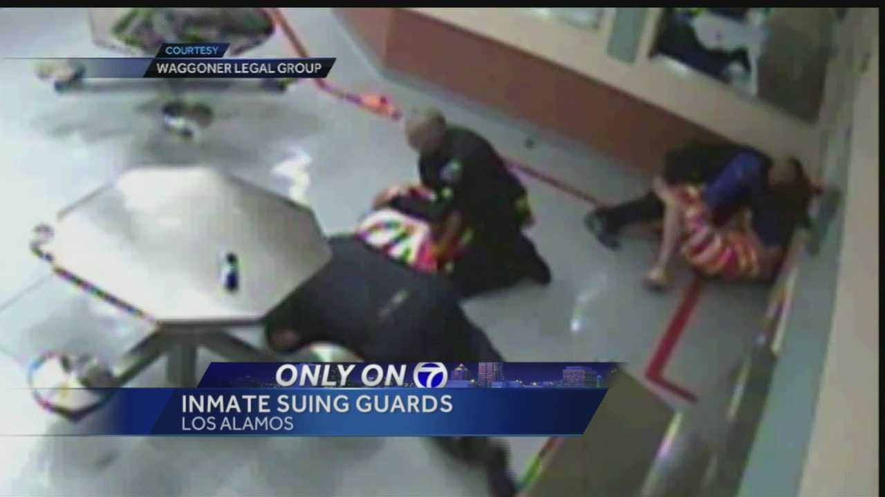 Years ago, a jail fight between inmates and guards was caught on camera inside the Los Alamos county detention center.