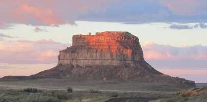 "The Fajada Butte is home to a dagger of light that bisects a carved spiral in rock. Anna Sofaer, in her book ""Chaco Astronomy,"" said it was formed by an opening of three rock slabs in front of the spiral."