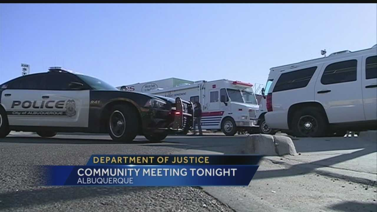DOJ Public Meeting Tonight