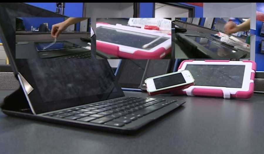 Action 7 News recently swabbed iPads, Kindles and smartphones and some of the devices were disgusting and teeming with germs.