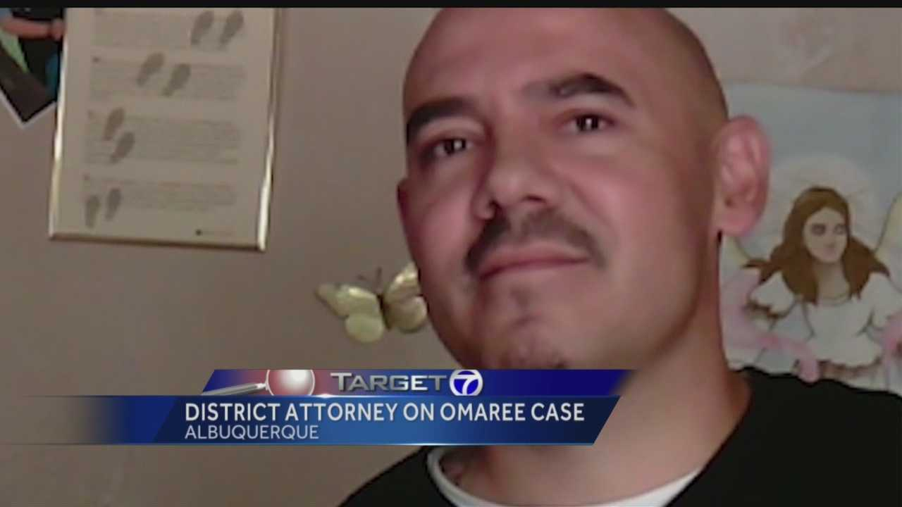 District attorney discusses Omaree case