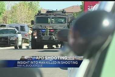 Fatal, 5.5.2014: Police said they shot Armand Martin, 50, after an hours-long standoff that ended with him firing at police with two handguns.