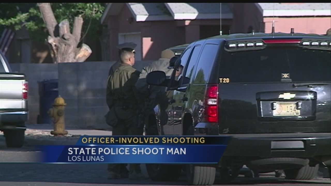 Los Lunas Officer Involved Shooting