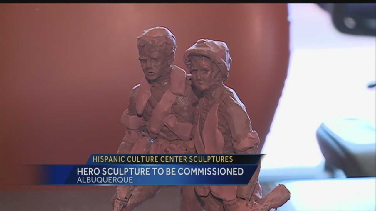 Regina has the full story on the Hispanic Culture Center Sculptures