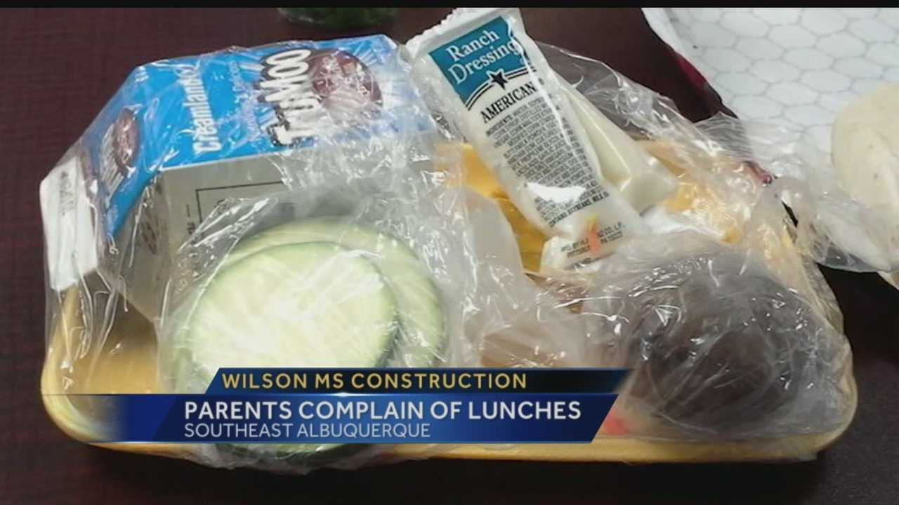 Wilson Middle School Lunches