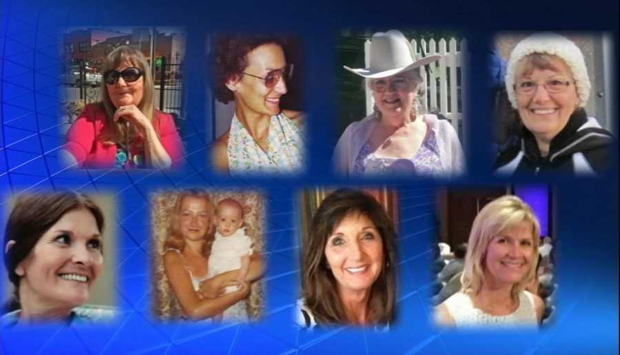 These are the moms of KOAT. Can you match these mothers to their TV news kids?