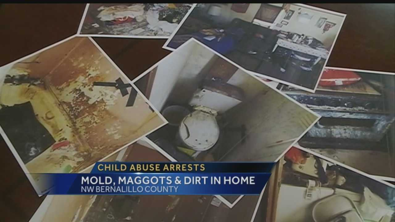 Three Albuquerque women face child abuse charges over a home that officials say is not habitable.