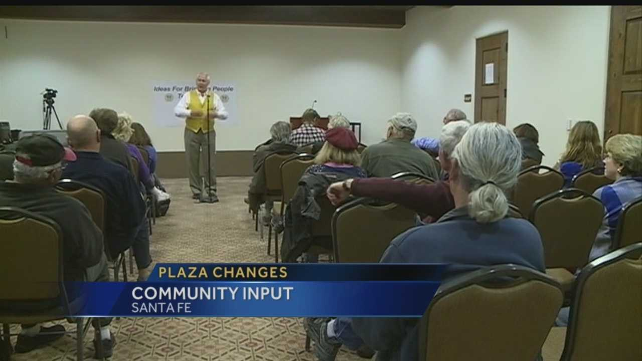 The opinions were flying tonight as Santa Fe City leaders listened to what changes citizens want.