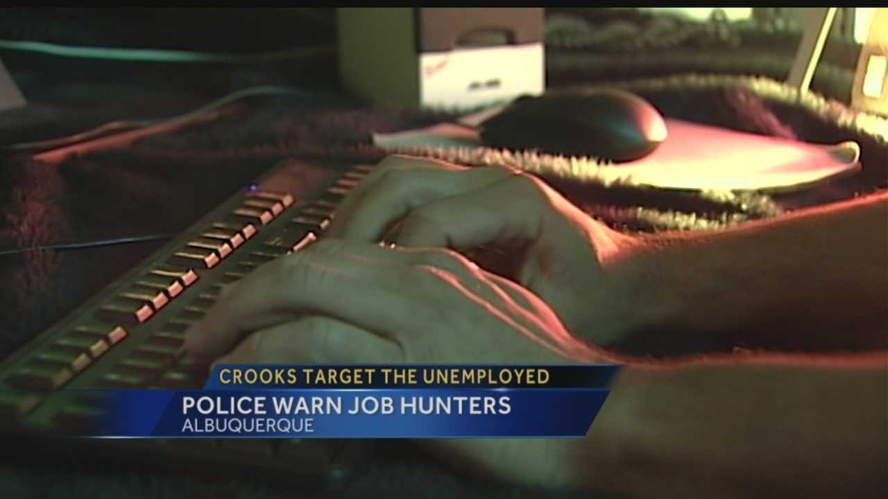 Crooks target unemployed: Police warn job hunters