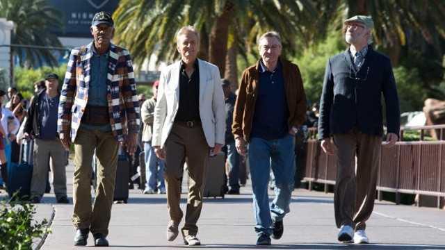 """In 2013, Douglas joined Morgan Freeman and Robert De Niro in """"Last Vegas."""""""