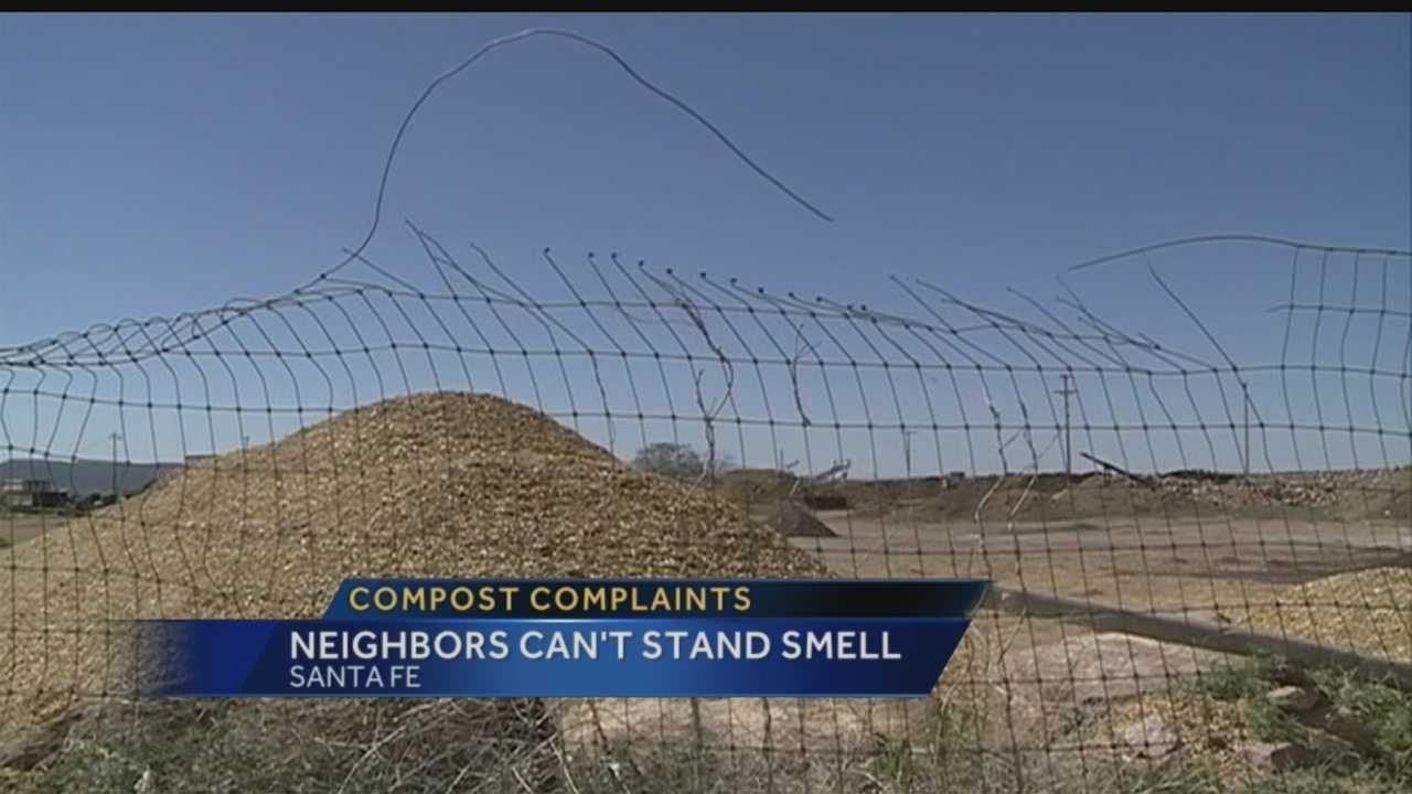 People in Santa Fe say they're gagging at a horrible new smell.