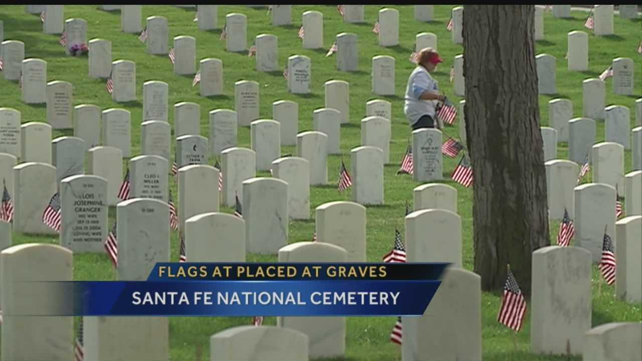 Royale has the story from the Santa Fe National Cemetery.