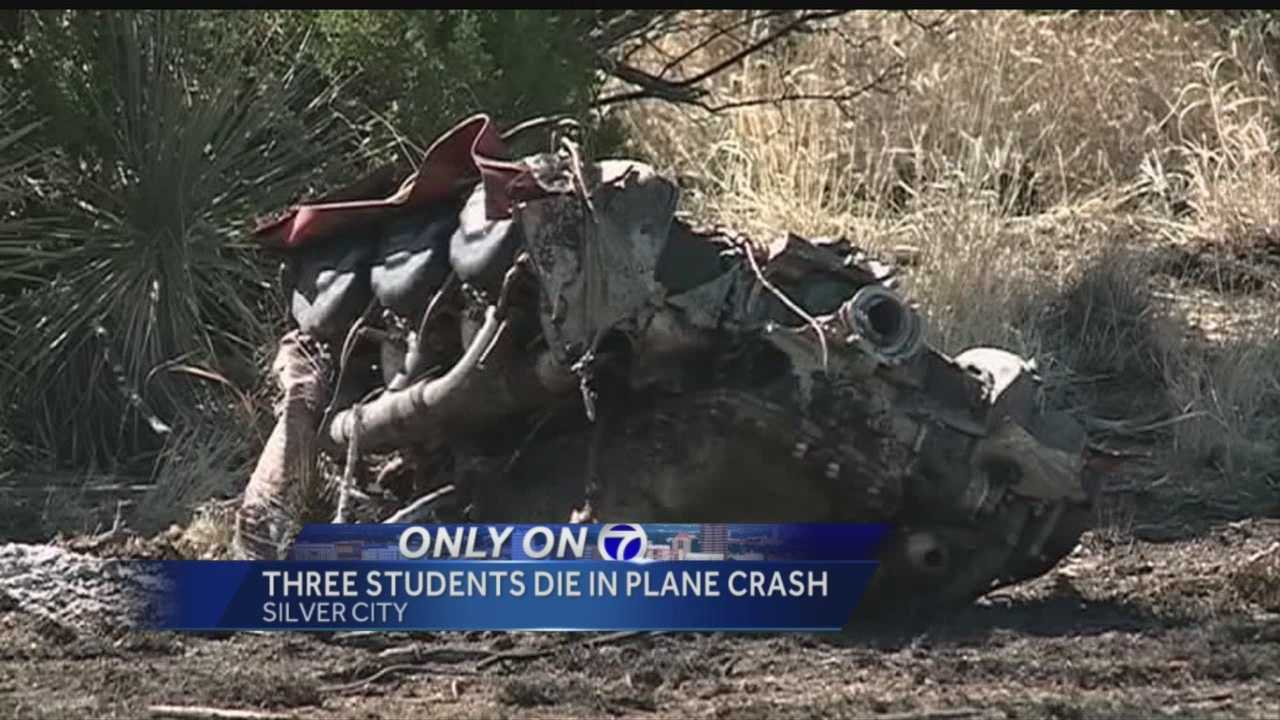 Three students and one adult died Friday when a plane crashed about a mile northeast of Whiskey Creek Airport near Silver City.