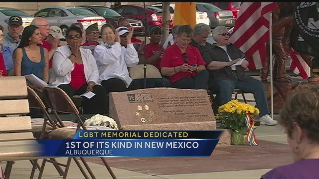 Every year on Memorial Day, people all over New Mexico take time to honor veterans, but Monday was the first time for a new kind of memorial in Albuquerque.