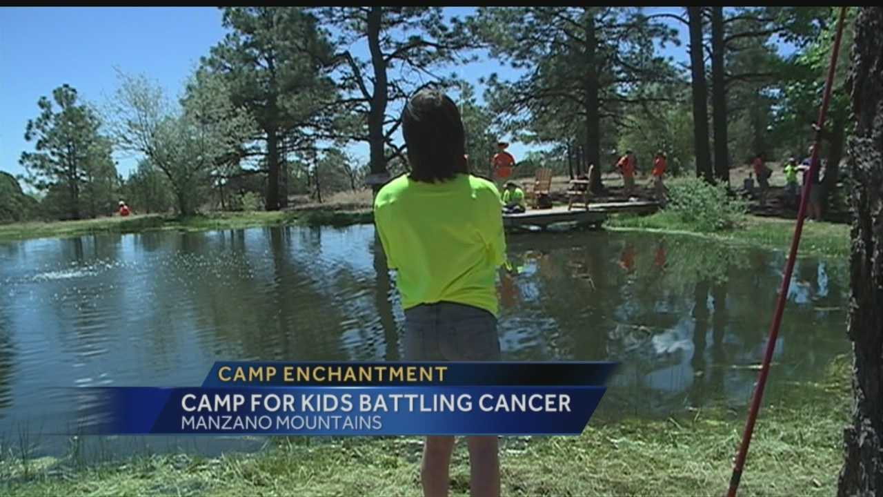 Orlando takes a look at what's going on at a camp for some of New Mexico's youngest cancer patients -- it's a place where kids can take a break from hospitals and treatment to just be kids.